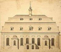 Kirchensaal um 1756