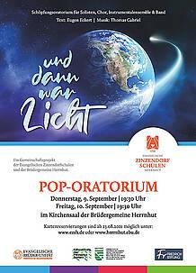 Pop-Oratorium zu Schöpfungsgeschichte »... und dann war Licht«